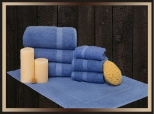 bath towels, bathrobe, luxury towels