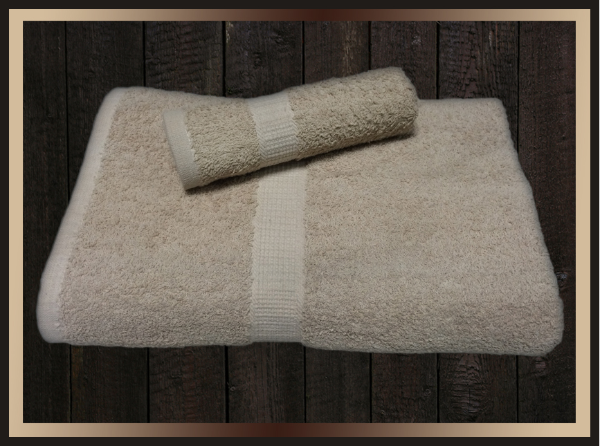 Beige Platinum Hotel Towels